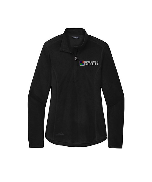 School District of Beloit Embroidered Eddie Bauer® Ladies 1/2-Zip Jacket
