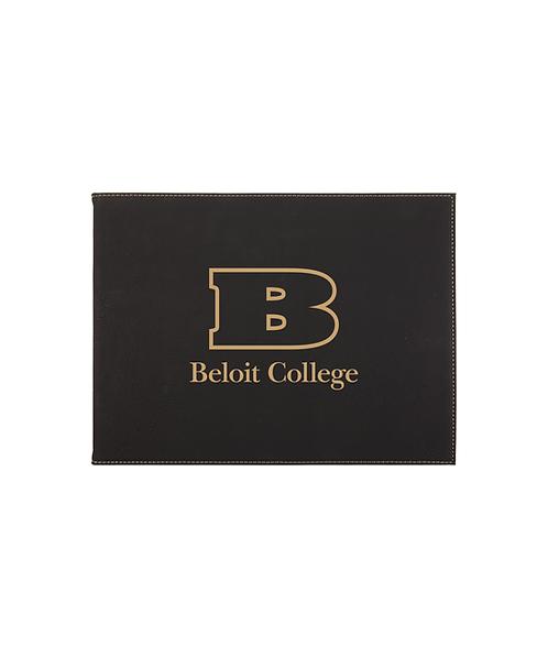 "Beloit College ""B"" Logo 9""x12"" Leatherette Certificate Holder for 8 1/2""x11"""