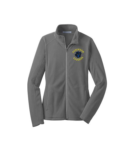 Robinson Staff Embroidered Ladies Microfleece Jacket