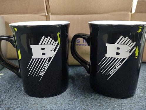 College Store 10 oz. Black Ceramic Rounded Corner Mug