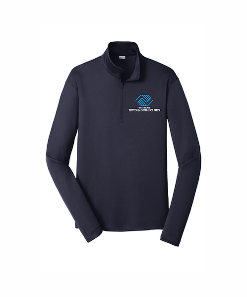 Embroidered Men's Stateline Boys & Girls Clubs 1/4-Zip Pullover