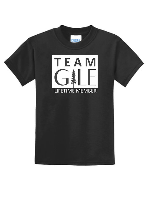 TEAM GILE- Port & Company® Youth Core Blend Tee
