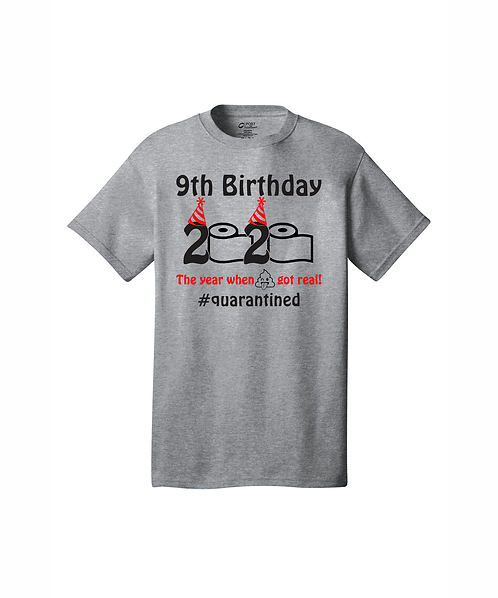 Personalized Birthday 2020 The Year Sh*t Got Real T-Shirt