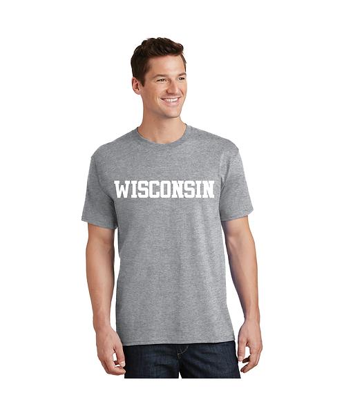 """College Store """"Wisconsin"""" Tee"""