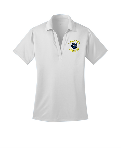 Robinson Staff Embroidered Ladies Silk Touch Performance Polo