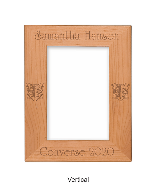 "Converse 4""x6"" Genuine Red Alder Picture Frame"