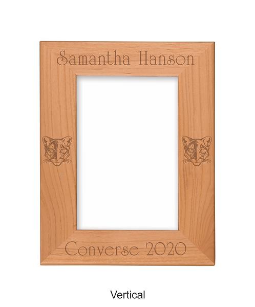 "Converse 4""x6"" Genuine Red Alder Picture Frame"
