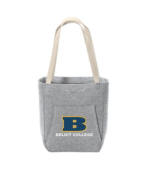 Beloit College Athletic Heather Port & Company Core Fleece Sweatshirt Tote