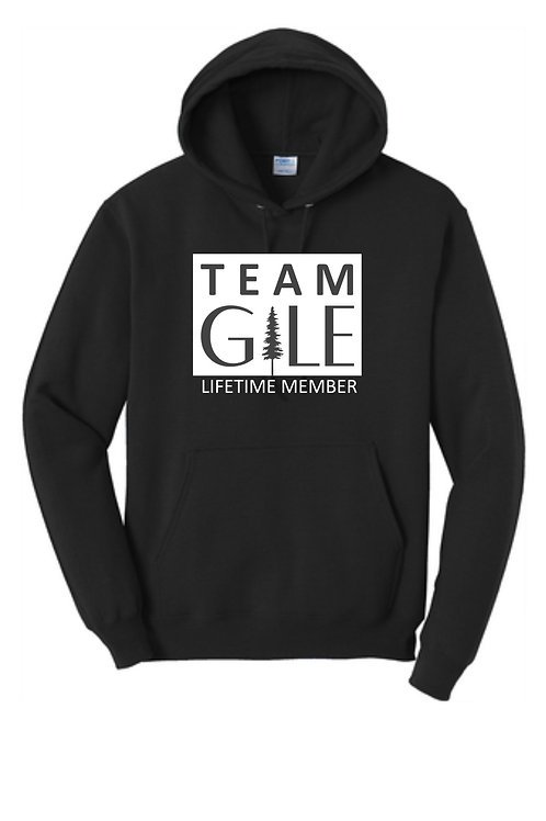 TEAM GILE- Port & Company® Core Fleece Pullover Hooded Sweatshirt