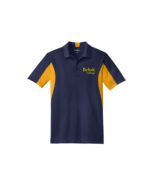 Beloit College Embroidered on True Navy/Gold Sport-Tek® Polo