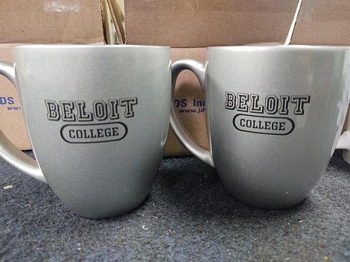 College Store 16 oz. Silver Ceramic Bistro Mug