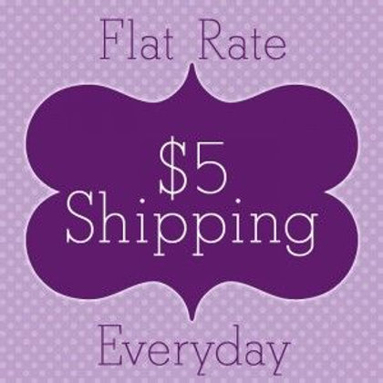 $5 shipping fee