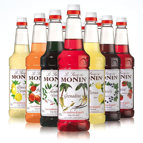Monin Syrups (fruits - Italian Sodas)