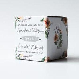 Sparkeling Milk Bath Cube
