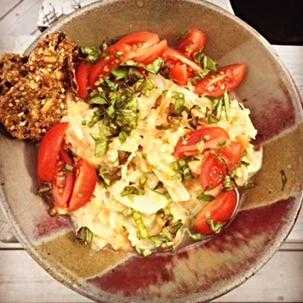 "(no) ""Chicken"" Lentil Salad"