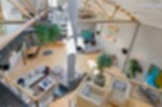 lofted workspace