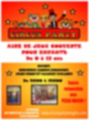 circus party mougins pizzas parcenfan sotie famille losirs mougins cannes cote aur