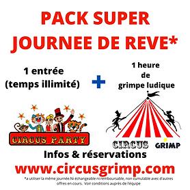 pack circus party + circus grimp grimpe ludique