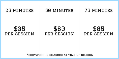 Fixed by Fitness Bodywork Pricing