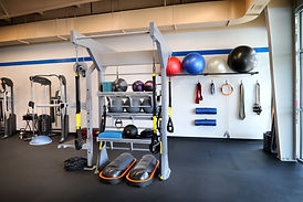 Inside Fixed by Fitness Personal Training Studio