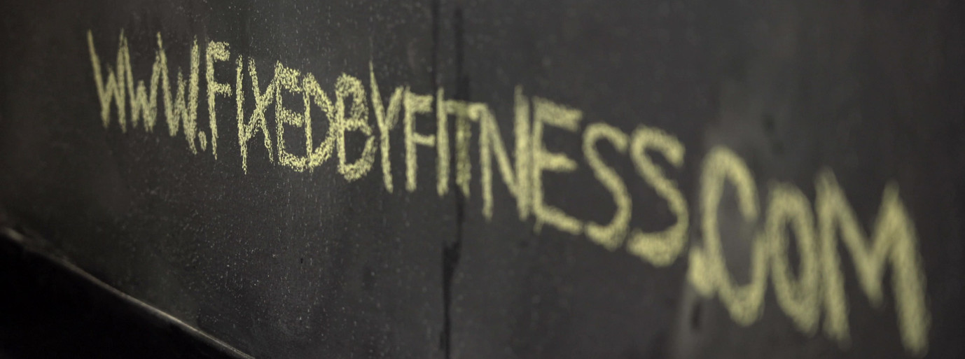 Fixed by Fitness personal training brand video