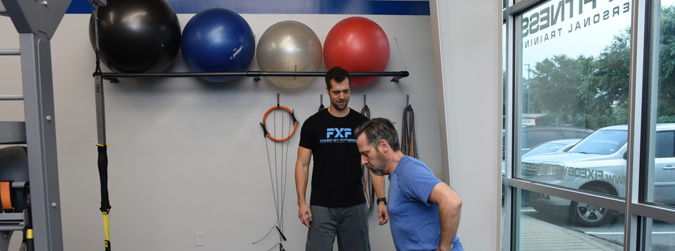 Fixed by Fitness training