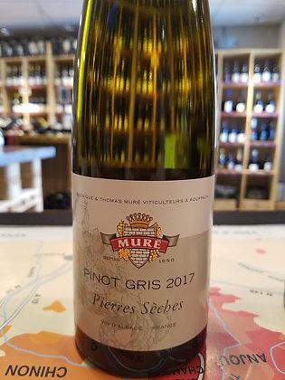 """PINOT GRIS """"Pierres sèches"""" 2017 - Domaine Muré"""