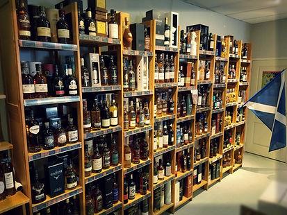 200 références de whiskies