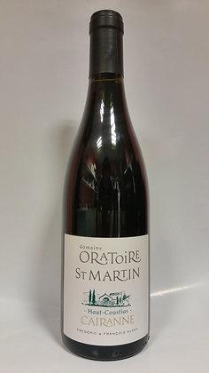 """Côte du Rhône Cairanne rouge """"Haut-coustias"""" L'oratoire St Martin 2015"""