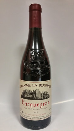 Vacqueyras  rouge Domaine de La Bouissière