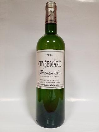 """Jurançon sec """"cuvée Marie"""" 2014 Domaine Uroulat"""
