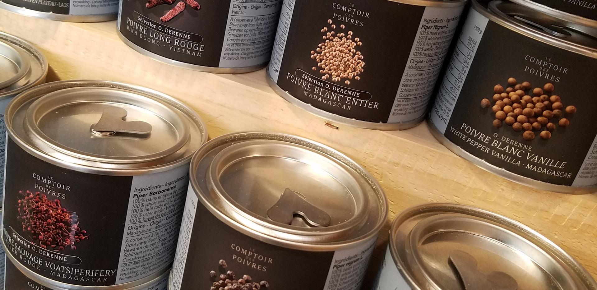 le Comptoir des poivres