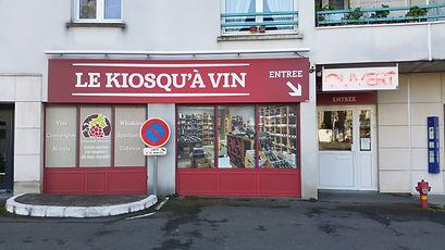 vitrine du magasin ouvert