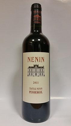 Pomerol Château NENIN 2011