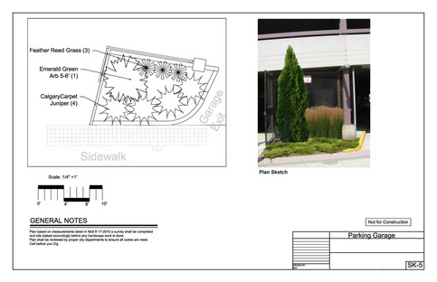 Parking Garage Improvements-Sketch 1