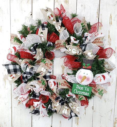 Countdown to Christmas Wreath
