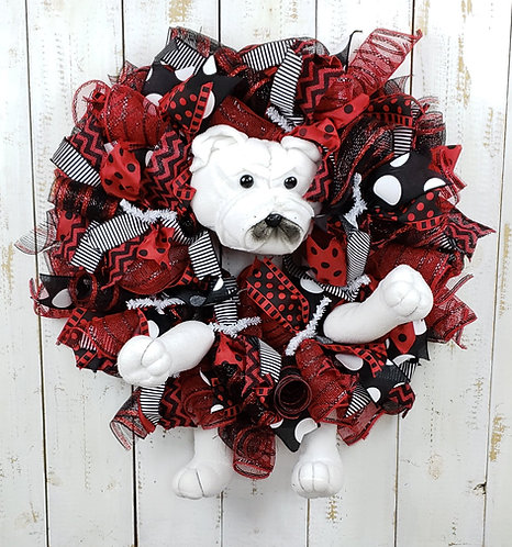 Dawgs Wreath
