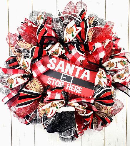 Santa... Stop Here