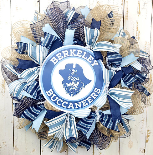 Berkeley Bucs Wreath