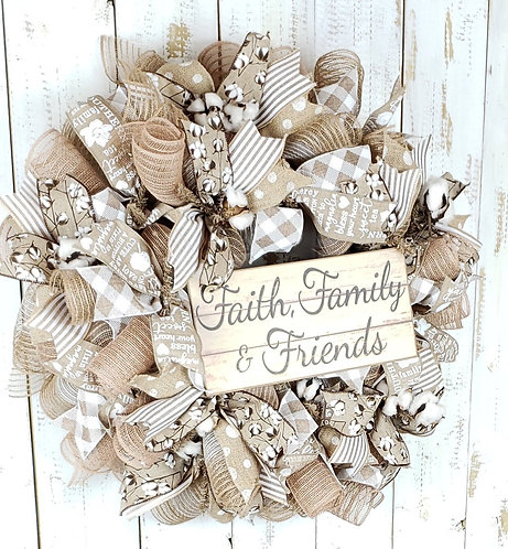 Faith, Family, and Friends