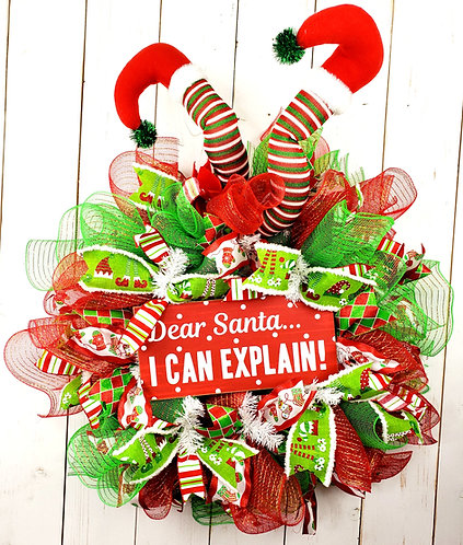 Dear Santa... I Can explain