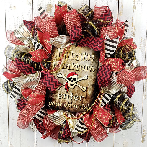 Gasparilla Wreath,