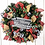 Thumbnail: Merry Christmas Pine and Burlap Wreath