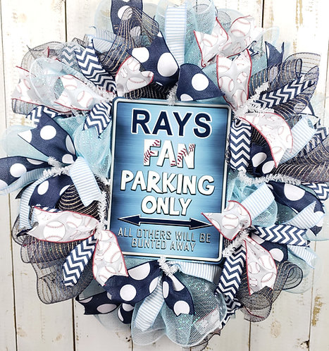 Tampa Bay Rays Wreath (2 options)