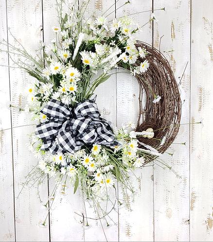 Daisy Wreath | Farmhouse Wreath