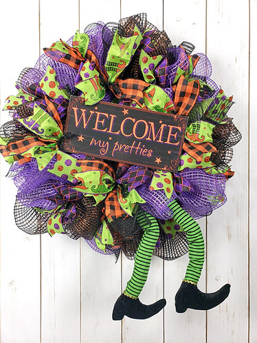 Witchy Witch Wreath