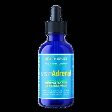 Smart Adrenal™ Brain Fatigue & Cortisol Balance + Focus Memory IQ Neuro Health