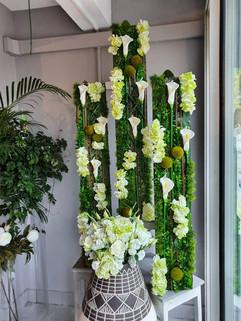 mur végétale christi'flor