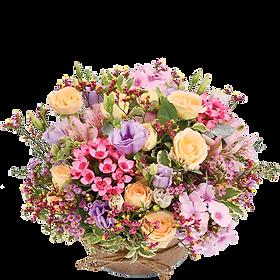 bouquet de fleur zeste tendre | christi'