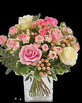 bouquet de fleur vanille fraise | christ